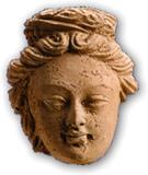 6~7世紀菩薩像頭部